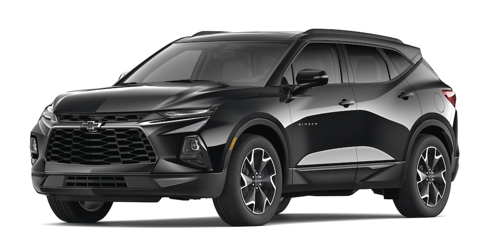 Chevrolet Blazer 2020, SUV mediana en color negro